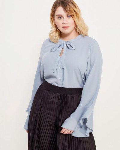 Голубая блузка Junarose