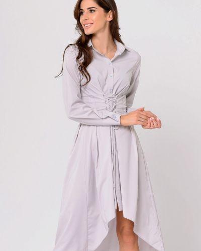 Платье осеннее прямое Lilove