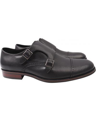 Кожаные туфли - черные Arees Meniwa