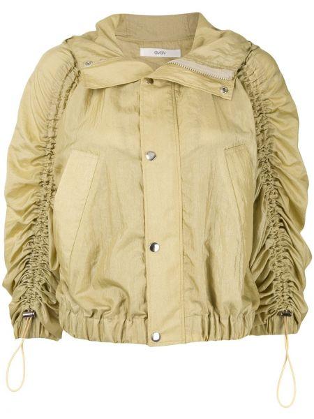 Куртка с капюшоном мятная круглая G.v.g.v.