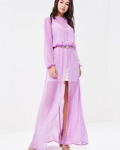Вечернее платье - фиолетовое Ricamare