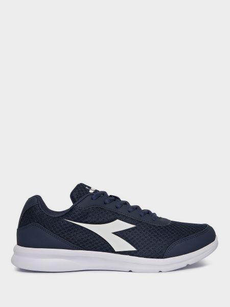 Текстильные кроссовки - синие Diadora