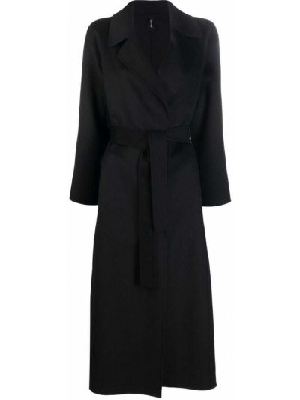 Черное пальто миди PaltÒ