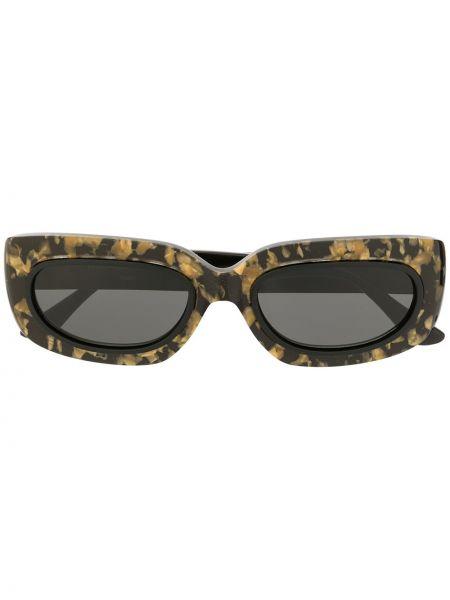 Муслиновые черные солнцезащитные очки George Keburia