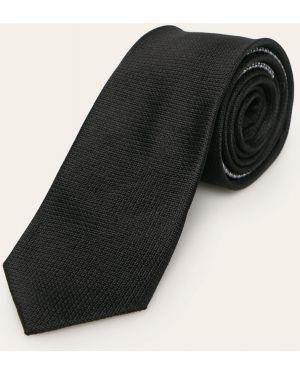 Krawat z wzorem czarny Tommy Hilfiger Tailored