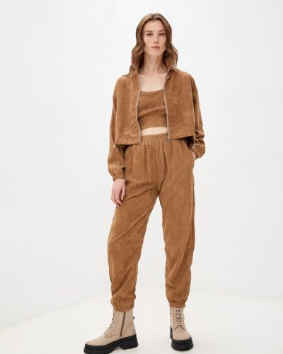 Хлопковый костюм - коричневый Fresh Cotton