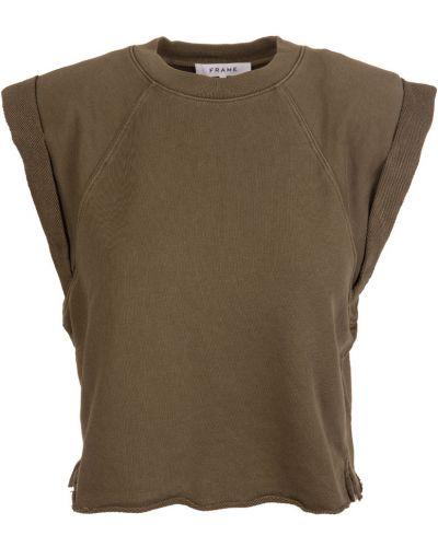 Brązowa koszulka Frame