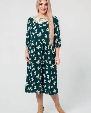 Платье на пуговицах из штапеля Luxury