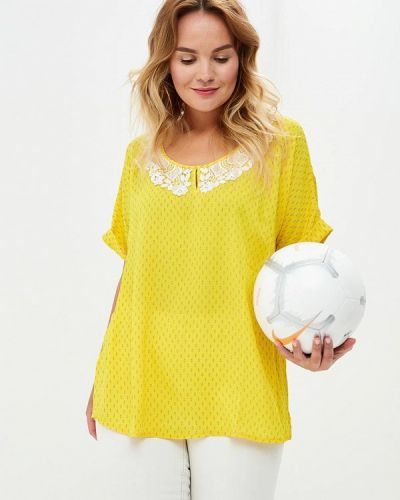 Желтая блузка Silver String