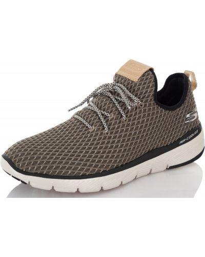 Кроссовки резиновые на шнуровке Skechers