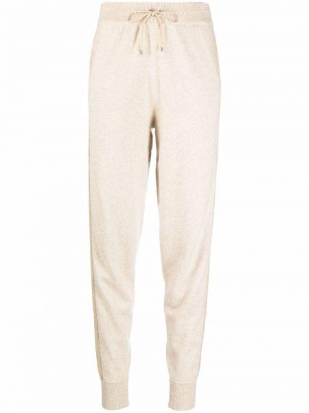 Beżowe spodnie z nylonu Ralph Lauren Collection