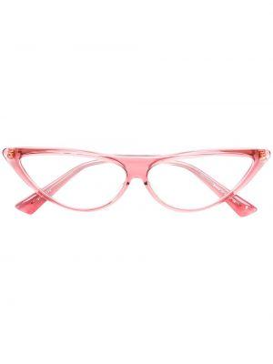 Różowe okulary srebrne Christian Roth