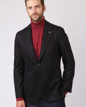 Пиджак вельветовый с карманами канцлер