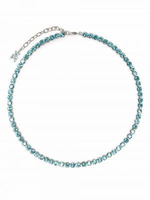 Ожерелье металлическое Amina Muaddi