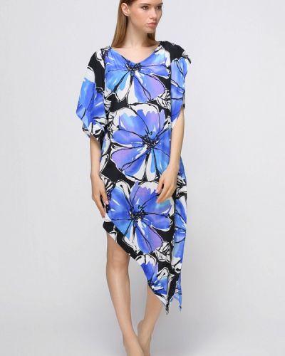 Пляжное платье весеннее синее Fantasie