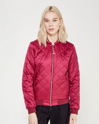 Утепленная куртка весенняя бордовый Conso Wear