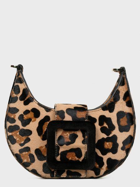 Кожаная кожаная сумка на молнии с карманами Les Petits Joueurs