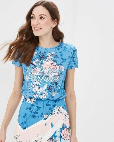 Комбинезон с шортами - синий Lança Perfume