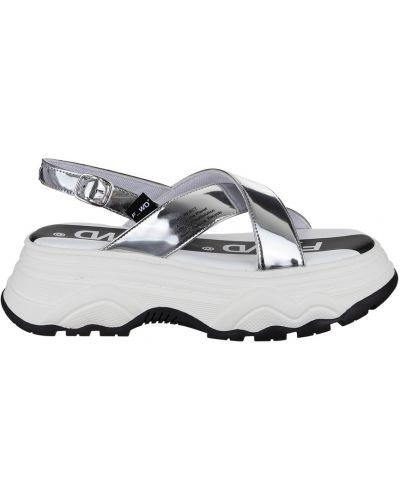 Szare sneakersy F_wd