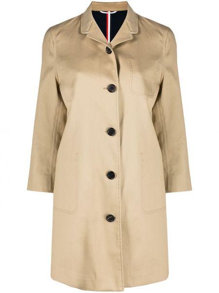 Однобортное пальто классическое с воротником на пуговицах Thom Browne