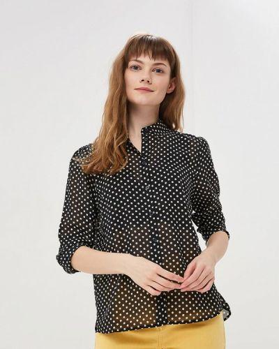 Блузка с длинным рукавом индийский черный Only