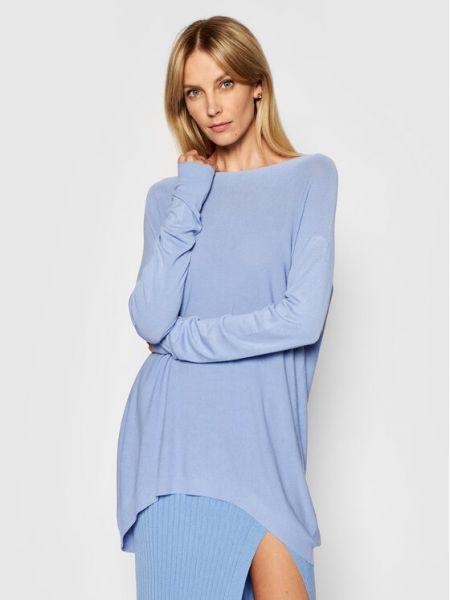 Niebieski sweter oversize Kontatto
