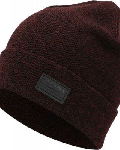 Теплая шапка - красная Demix