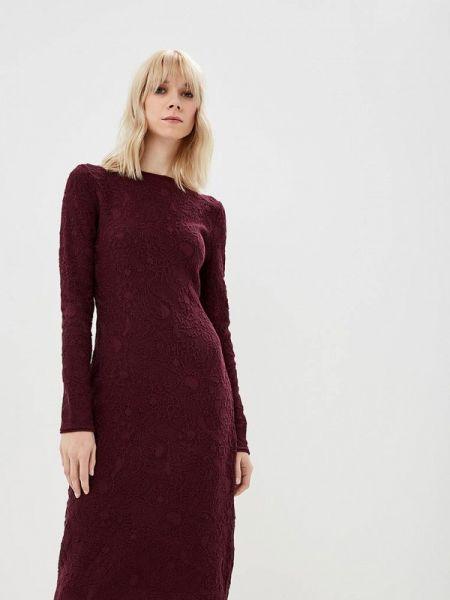 Платье бордовый вязаное Marytes