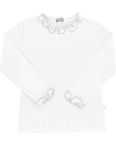 Biała t-shirt Il Gufo