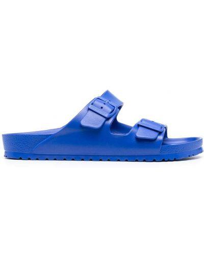 Niebieski otwarty sandały z klamrą otwarty palec u nogi Birkenstock