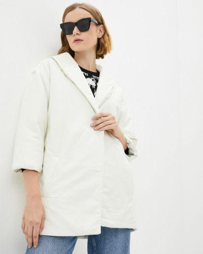 Белая утепленная куртка Fresh Cotton