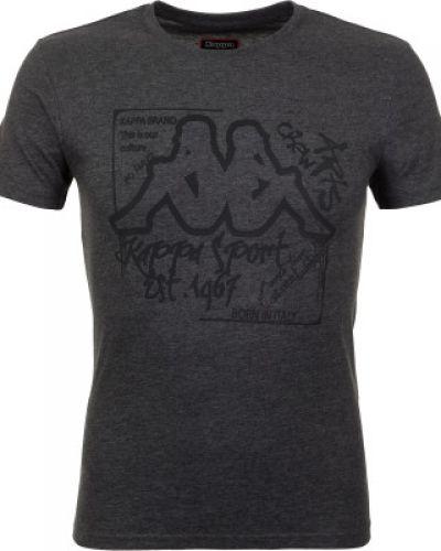 Спортивная футболка хлопковая классическая Kappa