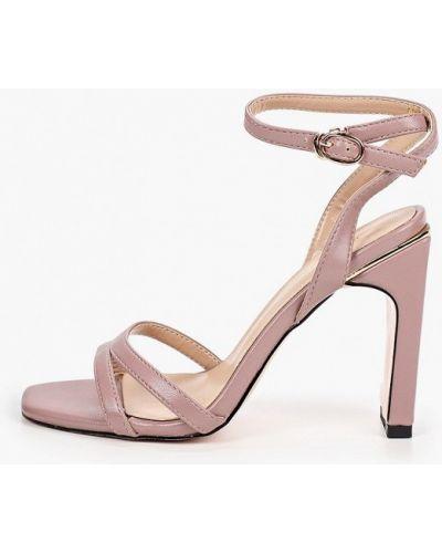 Кожаные розовые босоножки Diora.rim