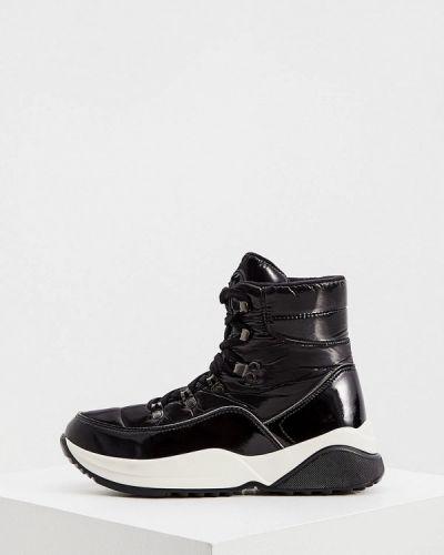 Черные лаковые кожаные ботинки Jog Dog