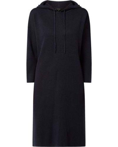 Sukienka rozkloszowana - niebieska Opus