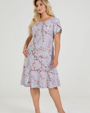 Повседневное платье платье-сарафан с рукавами марита