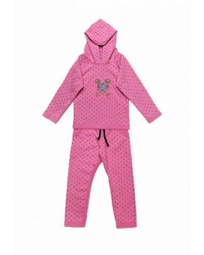 Розовый костюм модный карапуз