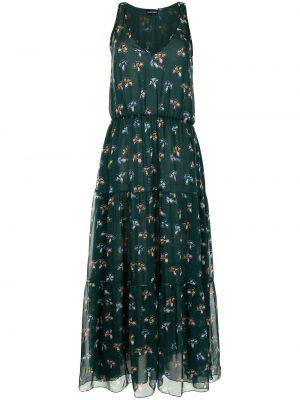 Зеленое платье без рукавов Emporio Armani