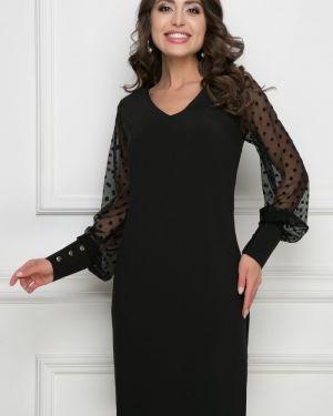 Платье в горошек на пуговицах Bellovera