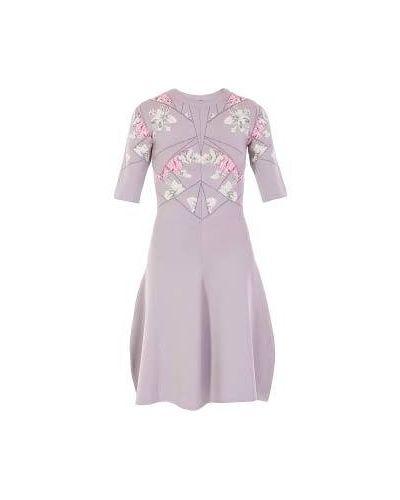 Серое платье Mcq