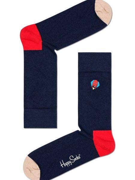 Носки с вышивкой Happy Socks