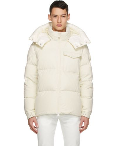 Kurtka x Off-White pikowana bawełniana z długimi rękawami Moncler