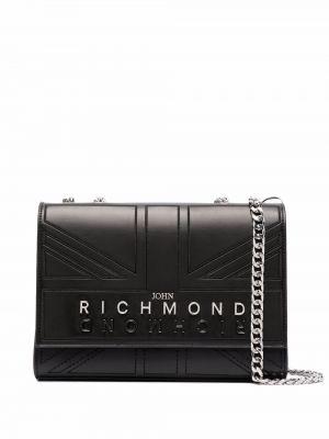 Черная сумка на молнии John Richmond