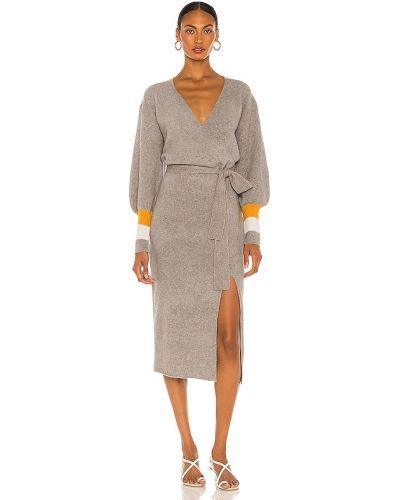 Восточное шерстяное платье Saylor