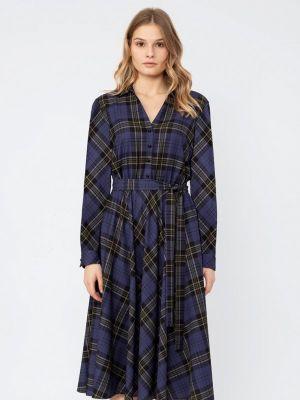 Повседневное платье - синее Pompa