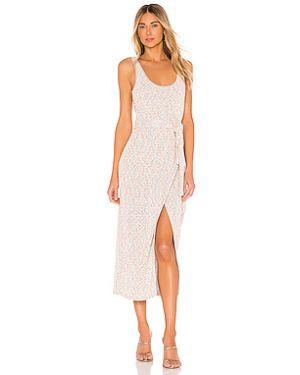 Платье миди вязаное шелковое Saylor