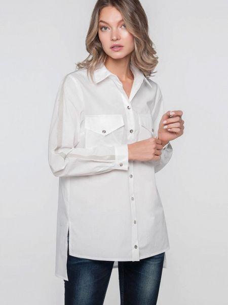 Рубашка с длинным рукавом белая Лимонти