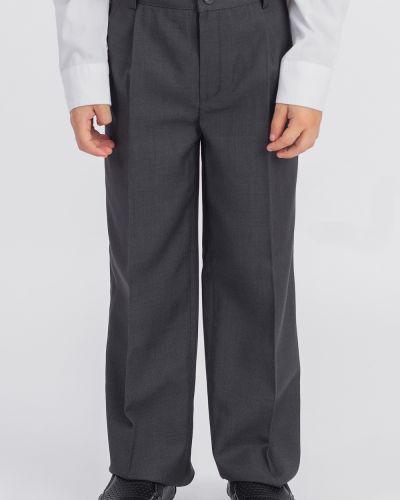 Классические брюки серые на резинке Lacywear