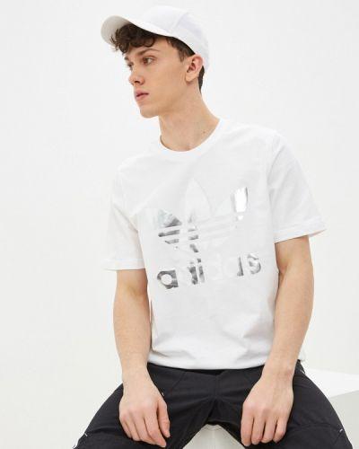 Белая футболка Adidas Originals