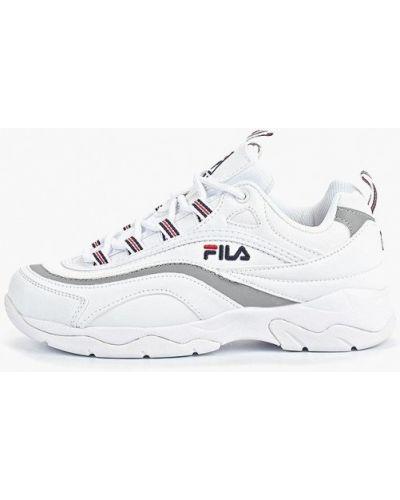 Кроссовки низкие из искусственной кожи Fila
